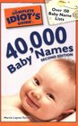 The Complete Idiot's Guide to 40000 Baby Names 2nd Edition