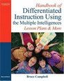 Handbook of Differentiated Instruction Using the Multiple Intelligences Lesson Plans and More