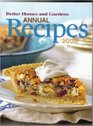 Better Homes and Gardens Annual Recipes 2008