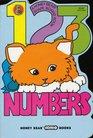 1, 2, 3, numbers (Honey Bear board books)