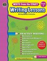 Write from the Start Writing Lessons Grd 3