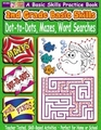 2nd Grade Basic Skills Dot-to-Dots, Mazes, Word Searches