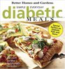 """Simple Everyday Diabetic Meals (""""Better Homes & Gardens"""")"""