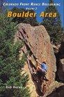 Colorado Front Range Bouldering Boulder Vol 2
