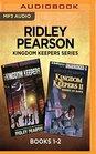 Ridley Pearson Kingdom Keepers Series Books 1-2 Disney after Dark  Disney at Dawn