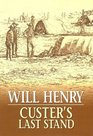 Custer's Last Stand (Large Print)