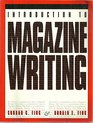 An Introduction to Magazine Writing