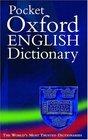 Pocket Oxford English Dictionary