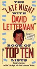 The 'Late Night with David Letterman' Book of Top Ten Lists