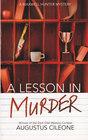 A Lesson in Murder (Maxwell Hunter, Bk 1)