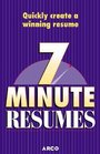 Arco 7 Minute Resumes Build the Perfect Resume One 7-Minute Lesson at a Time