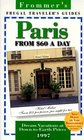 Frommer's 97 Paris from 60 a Day Frugal Traveller's Guides