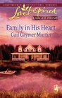 Family in His Heart (Michigan Island, Bk 4) (Large Print)