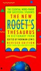 The New Roget's Thesaurus: In Dictionary Form/Student Edition