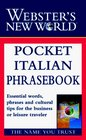 Webster's New World Pocket Italian Phrasebook