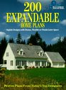 200 Expandable Home Plans Stylish Designs With Bonus Flexible or Finish-Later Space