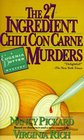 The 27-Ingredient Chili Con Carne Murders (Eugenia Potter, Bk 4)