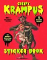 Krampus Sticker Book 72 Reusable Stickers for Naughty Girls and Boys of All Ages