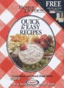 Better Homes & Gardens-Quick and easy Recipes