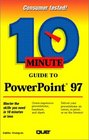 10 Minute Guide to Powerpoint 97 (10 Minute Guides (Computer Books))