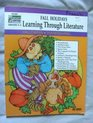 Fall Holidays Learning Through Literature Grades 2-3