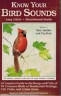 Know Your Bird Sounds Yard Garden and City Birds/Audio Cassette
