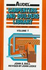 Audel Carpenters and Builders Library Tools Steel Square Joinery