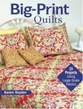 Big-Print Quilts: 15 Projects Using Large-Scale Fabrics