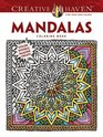 COSTCO Creative Haven Mandalas Coloring Book Color Doodle Imagine Create