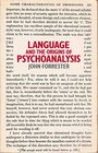Language and the Origins of Psychoanalysis