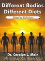 Different Bodies Different Diets  Men's Edition