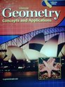 Geometry Concepts and Applications California Edition