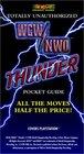 WCW/NWO Thunder Totally Unauthorized Pocket Guide