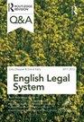 QA English Legal System 2011-2012