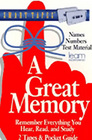 A Great Memory (Audio Cassette)