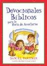Devocionales Biblicos para la Hora de Acostarse Bible Devotions for Bedtime