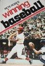 Pete Rose's Winning Baseball