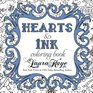 Hearts  Ink Coloring Book