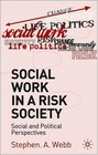 Social Work in a Risk Society Social and Cultural Perspectives