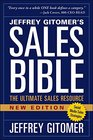 The Sales Bible New Edition The Ultimate Sales Resource