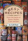 Best Recipes From the Backs of Boxes Bottles Cans  Jars
