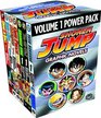 Shonen Jump Graphic Novels Power Pack, Vol. 1 (Contains Volume I of Dragon Ball, Dragon Ball Z, Naruto, One Piece, Shaman King, Yu-Gi-Oh!, and YuYu Hakusho)