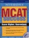 Peterson's MCAT Success 2005