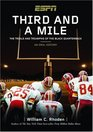 THIRD AND A MILE FROM FRITZ POLLARD TO MICHAEL VICK--AN ORAL HISTORY OF THE TRIALS TEARS AND TRIUMPHS OF THE BLACK QUARTERBACK