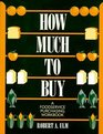 How Much to Buy A Foodservice Purchasing Workbook