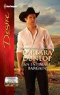 An Intimate Bargain (Colorado Cattle Barons, Bk 3) (Harlequin Desire, No 2158)