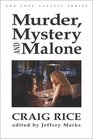 Murder, Mystery and Malone (Crippen  Landau Lost Classics)