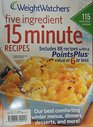 Weight Watchers 5 Ingredient 15 Minute Winter 2013