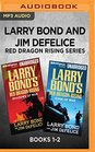 Larry Bond and Jim DeFelice Red Dragon Rising Series Books 1-2 Shadows of War  Edge of War