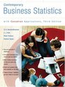 Contemporary Business Statistics with Canadian Applications